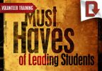 Must Haves of Leading Students