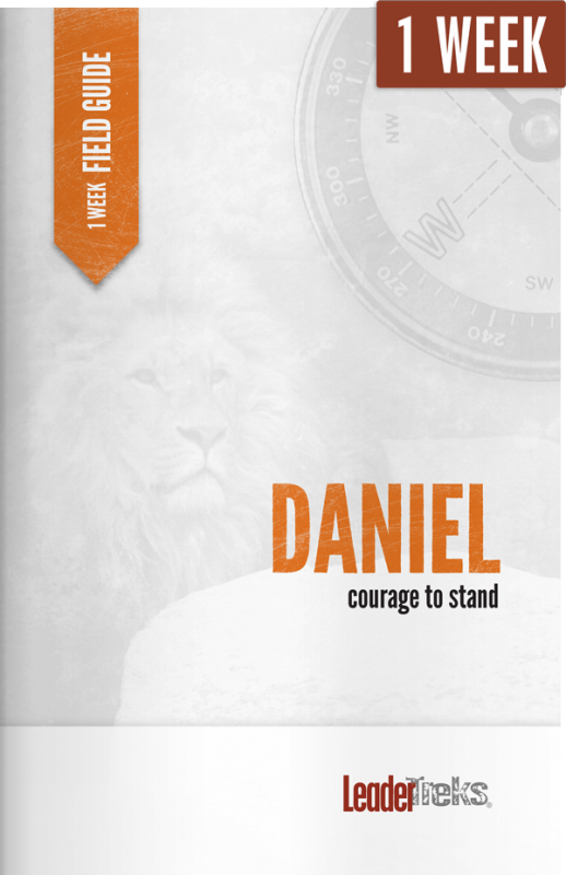 daniel 1 week mission trip devotional