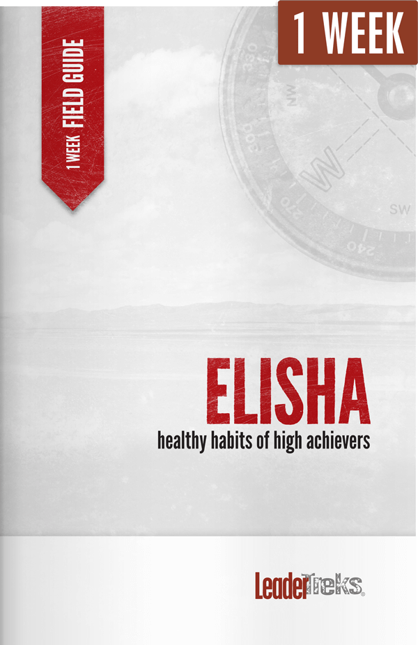 elisha 1 week mission trip devotional