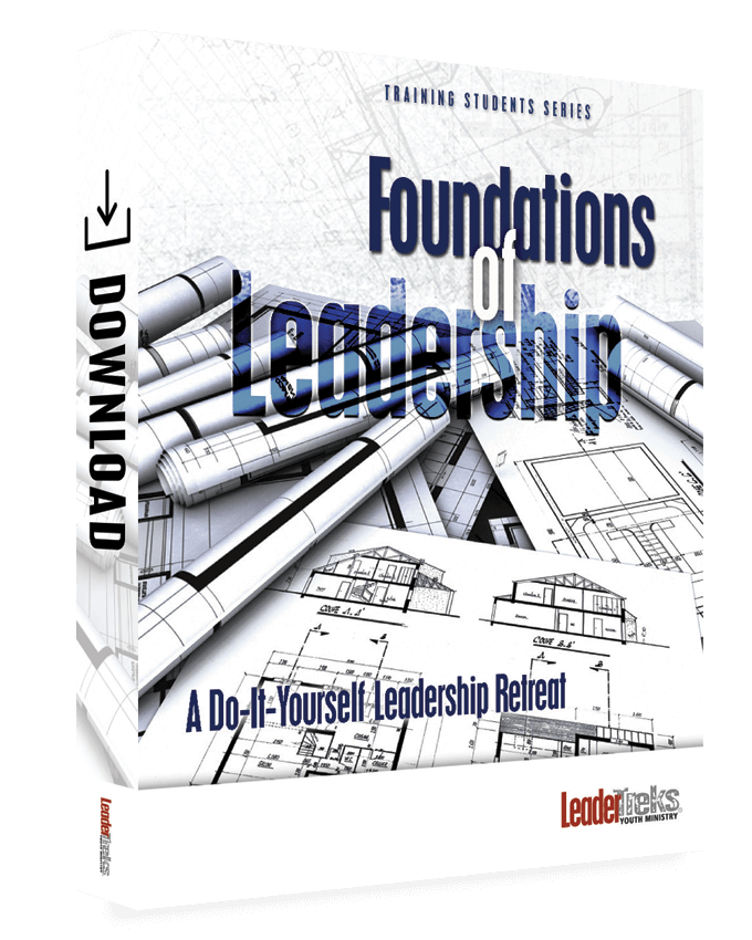 student leadership youth retreat curriculum foundations of leadership