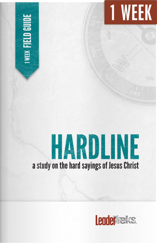 hardline 1 week mission trip devotional