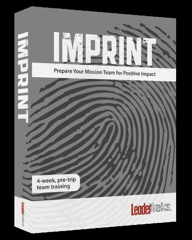 Pre-trip Training: Imprint