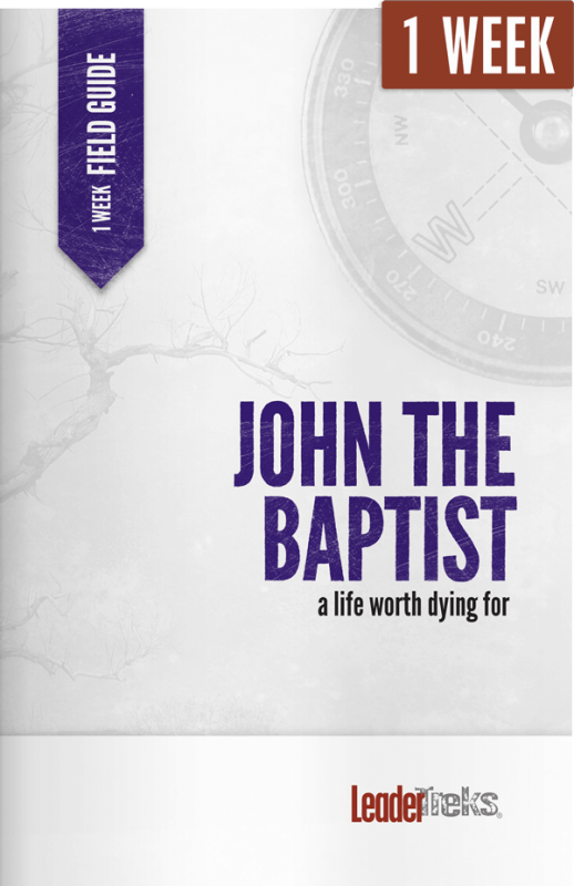john the baptist 2 week mission trip devotional