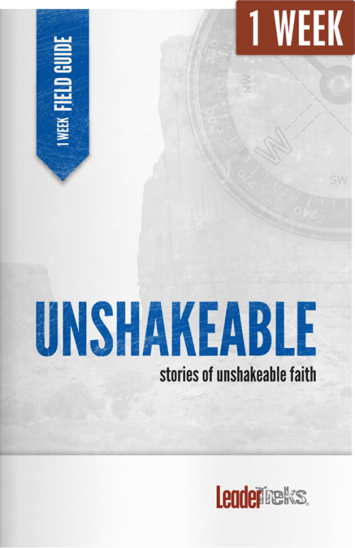 unshakeable 1 week mission trip devotional