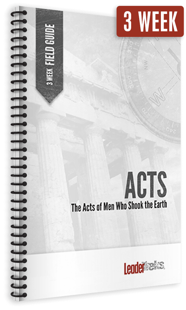 acts 3 week mission trip devotional