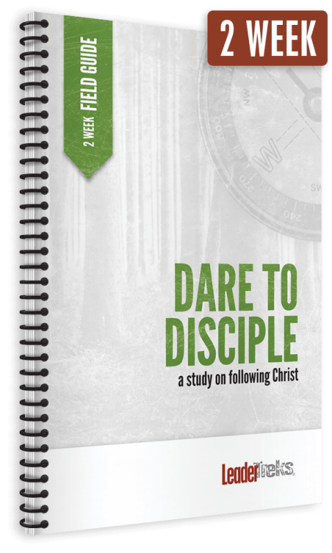dare to disciple 2 week mission trip devotional