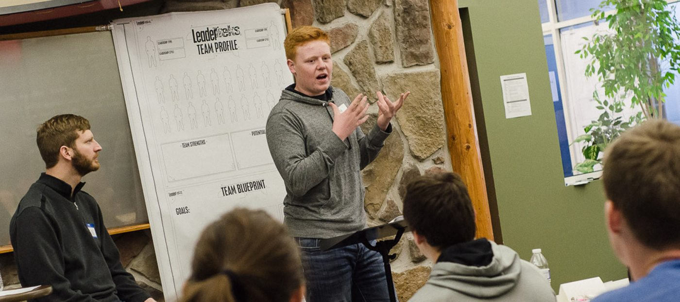 leadertreks youth ministry case for student leadership