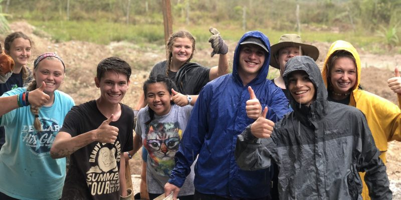 international youth mission trip worksite team