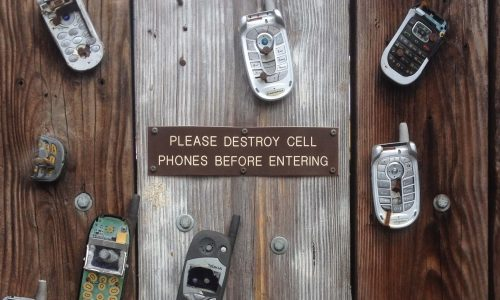 no cell phones allowed, youth ministry