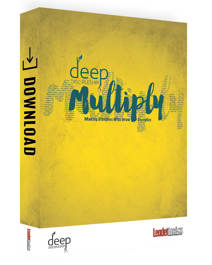 deep discipleship curriculum multiply for youth ministry