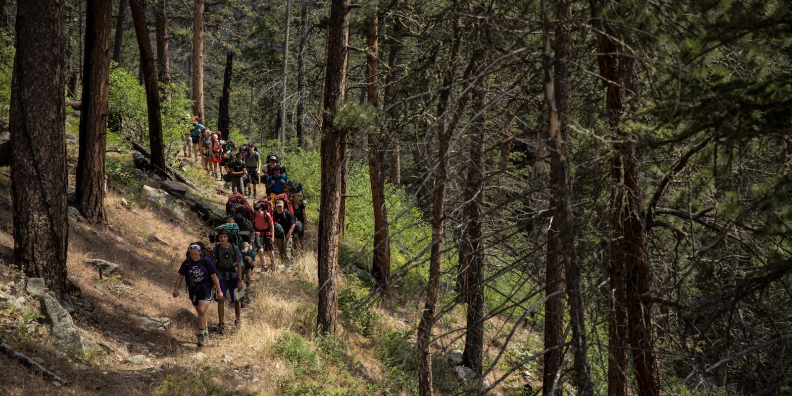 leadertreks georgia backpacking adventure