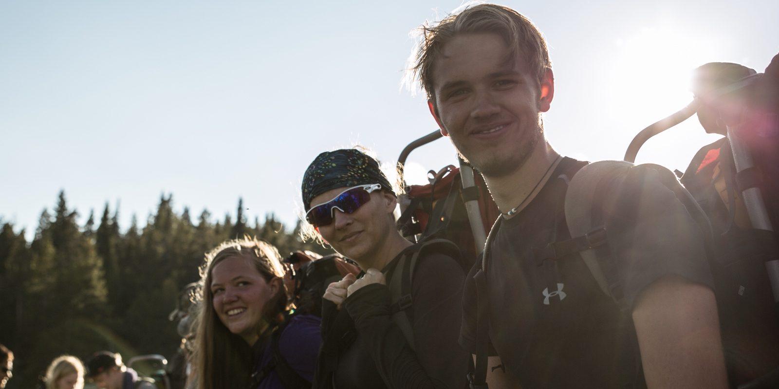 leadertreks backpacking adventure
