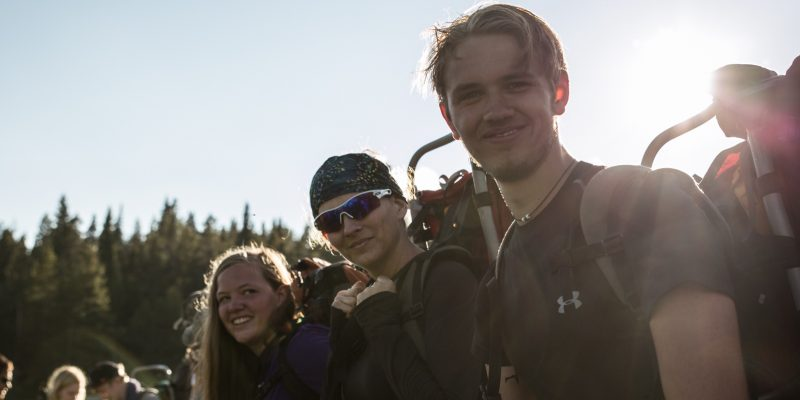 leadertreks backpacking adventure