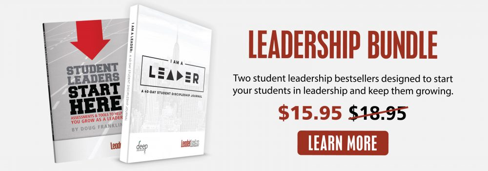 student leadership resource bundle
