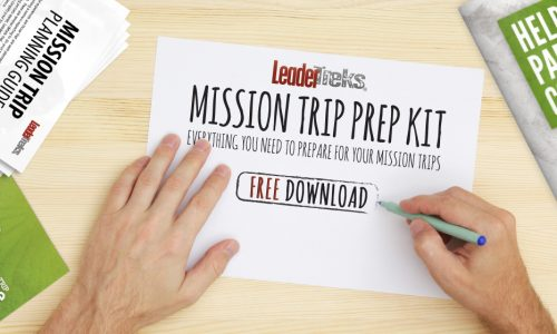 mission trip prep kit free download