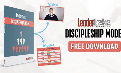 leadertreks youth ministry discipleship model