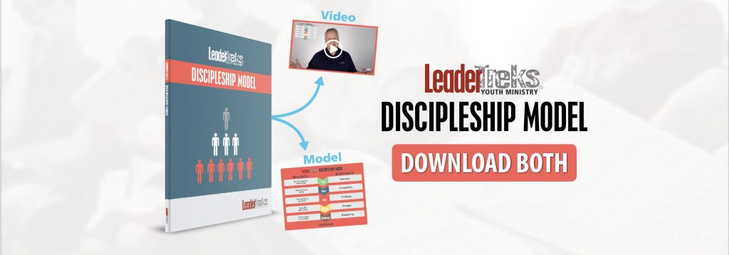 youth ministry, leadertreks discipleship model