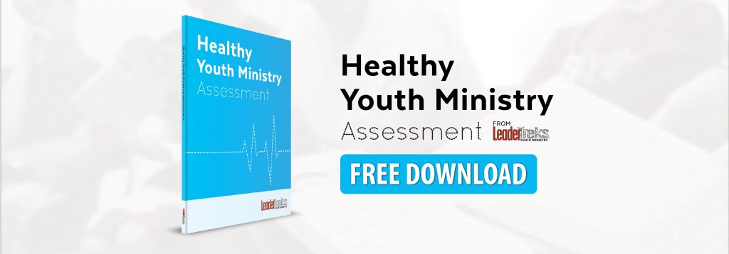 healthy youth ministry assessment