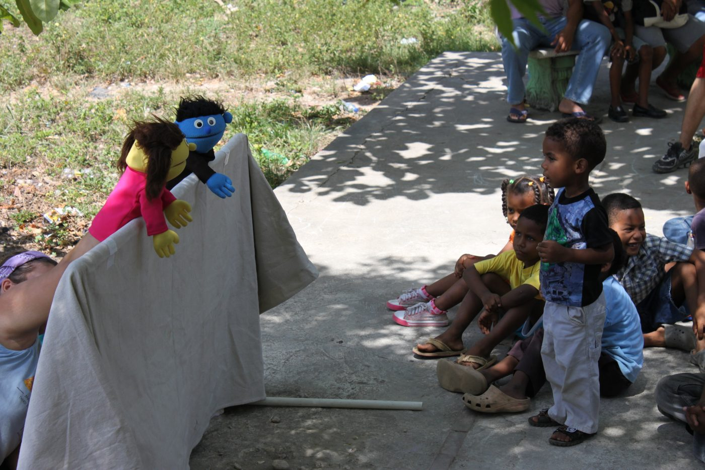 vbs kids on honduras mission trip