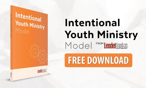 leadertreks intentional youth ministry model