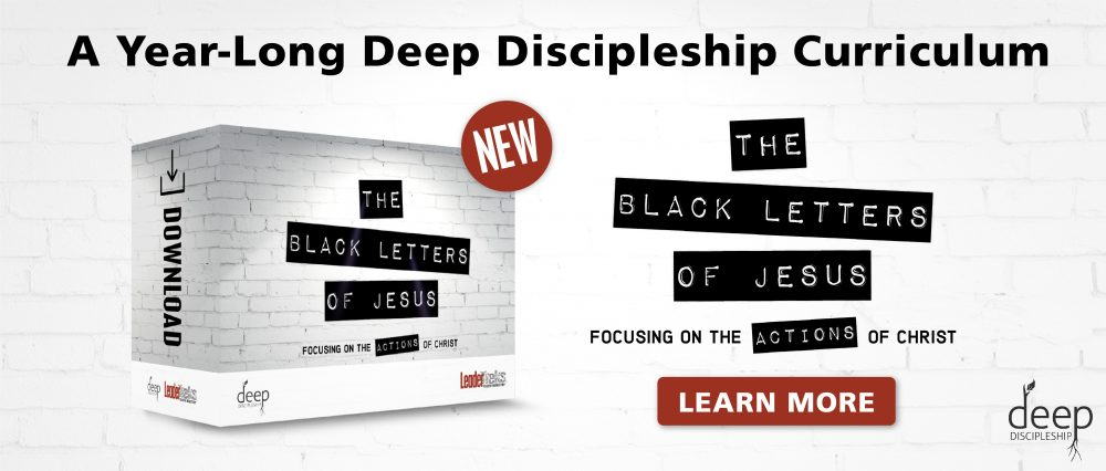 leadertreks youth ministry deep discipleship curriculum