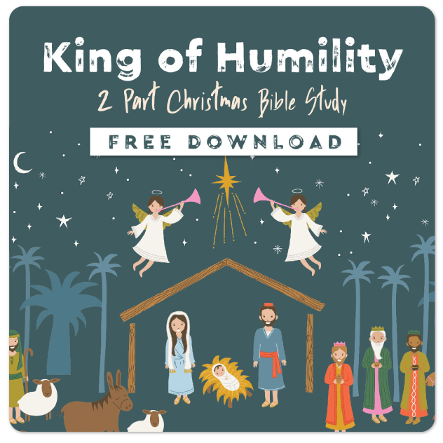 youth ministry christmas bible study king of humility