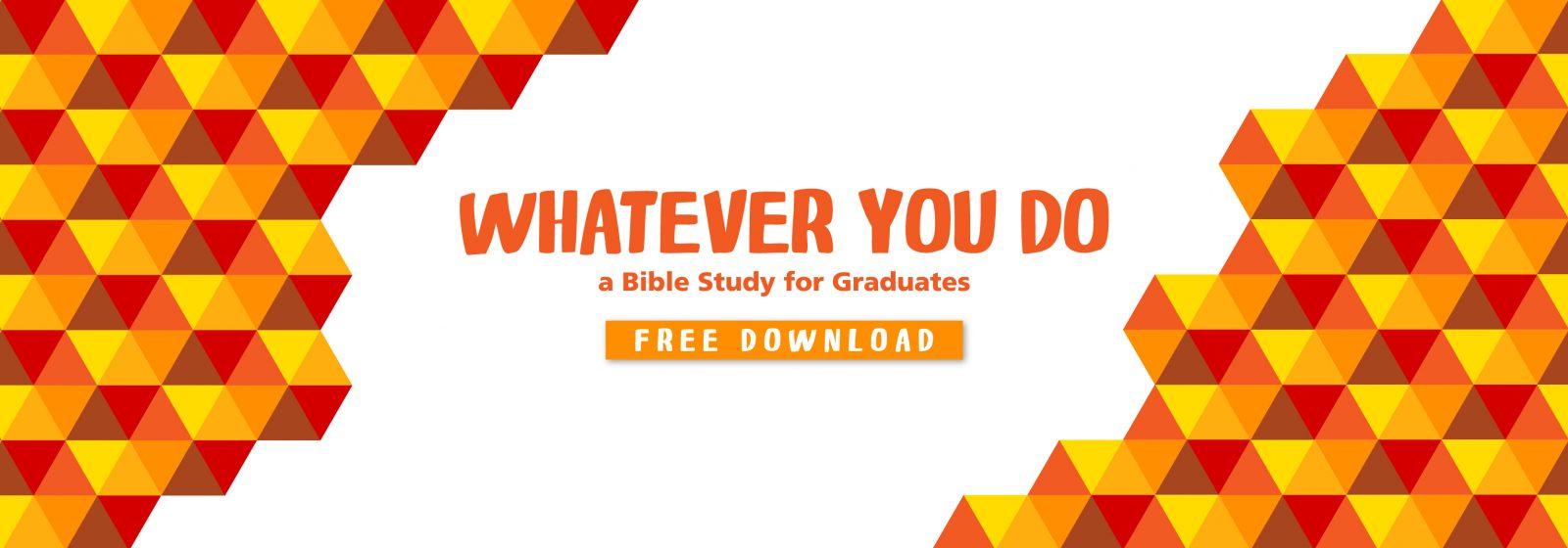 devotion for graduating seniors, youth group graduation lesson