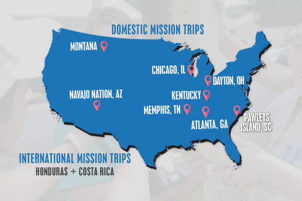 mission trips trips for youth