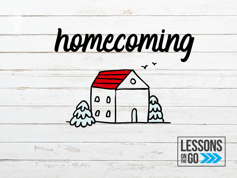 youth ministry lessons on the go homecoming