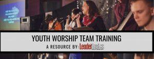 youth worship team training