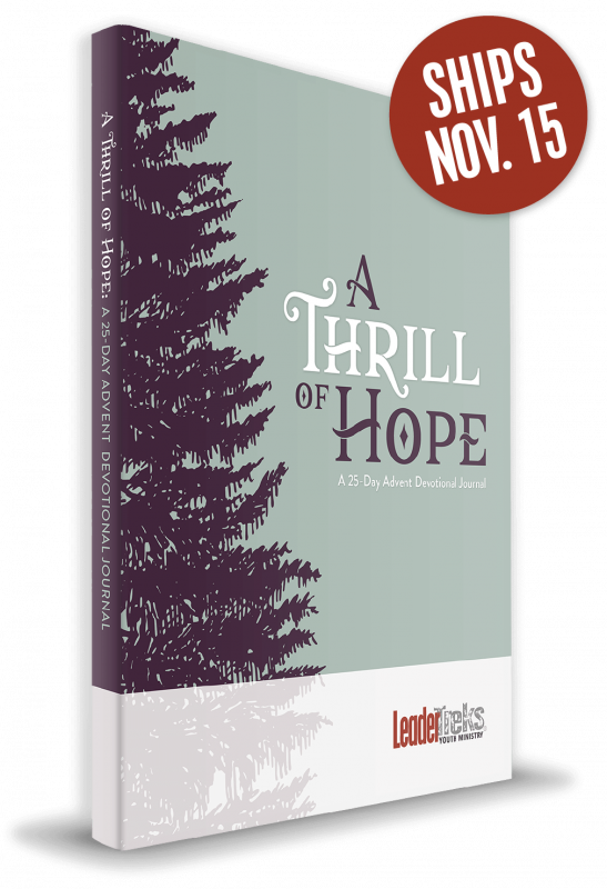 thrill of hope advent devotional journal
