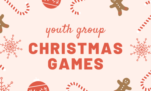 youth group christmas games
