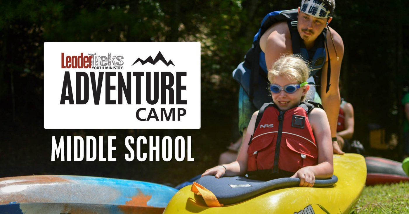 middle school adventure camp