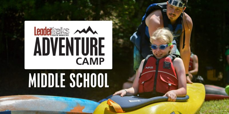 middle school adventure camp