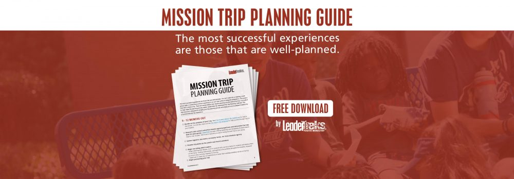 mission trip planning guide downloadable pdf