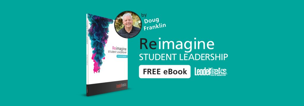 reimagine student leadership ebook for youth ministry