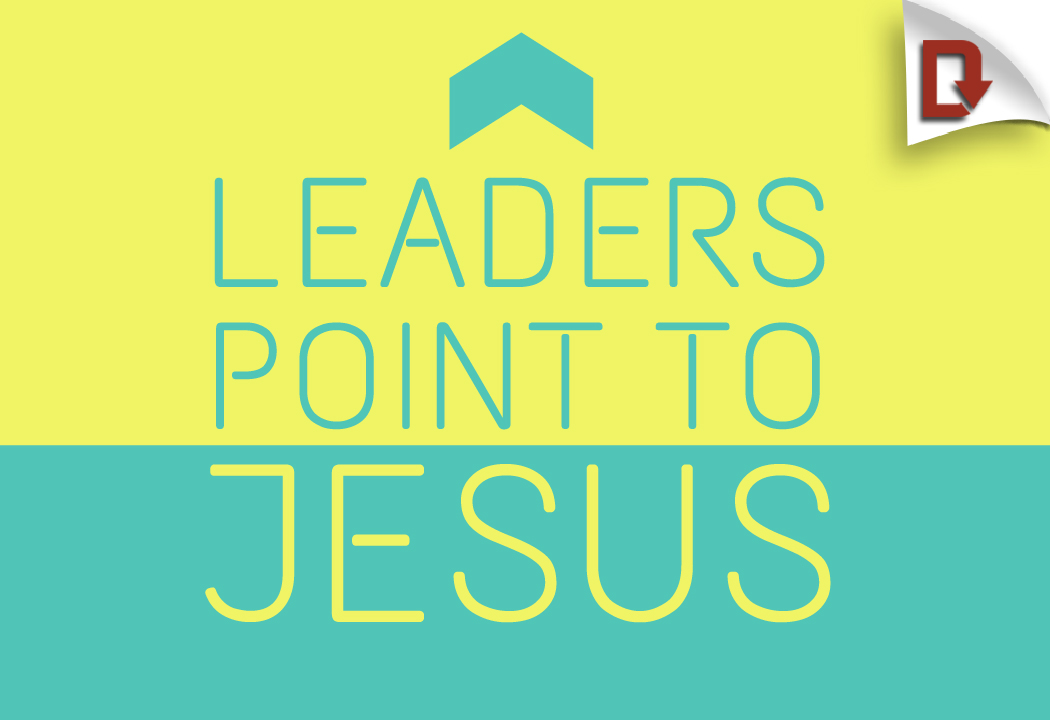 youth ministry leaders point to jesus download