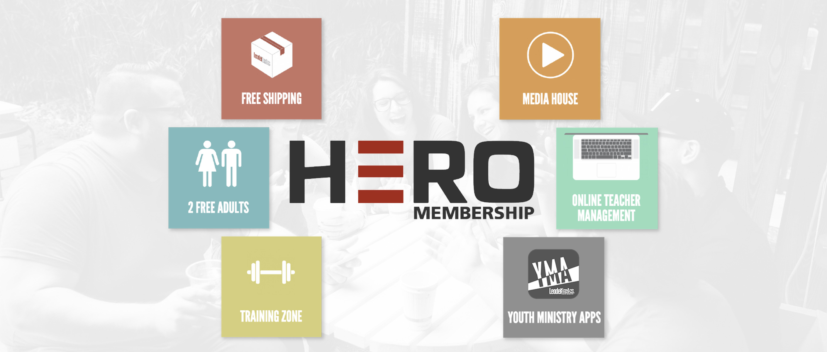 youth pastor hero membership
