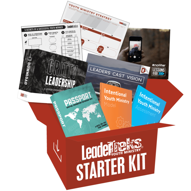leadertreks youth ministry curriculum starter kit
