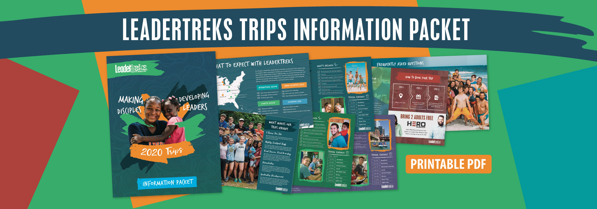 mission trips information packet