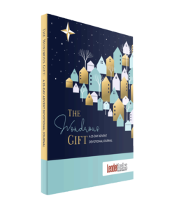 wondrous gift advent devotional journal