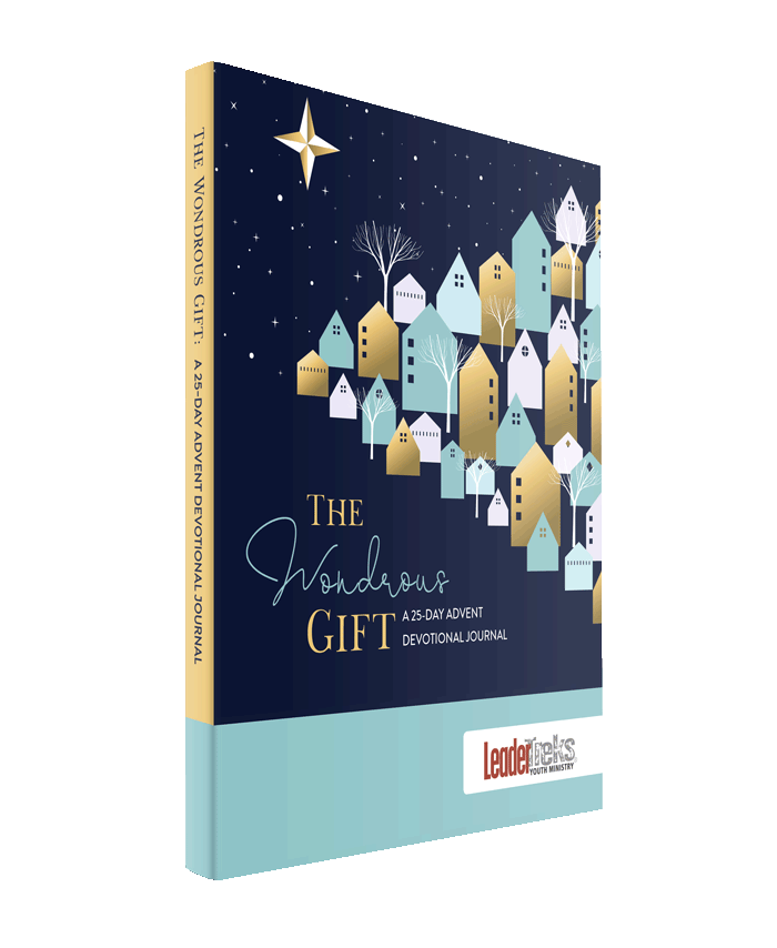 wondrous gift advent devotional journal