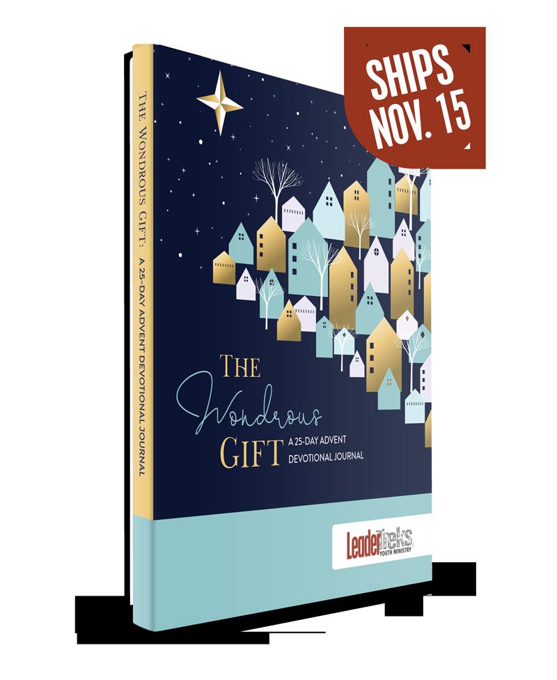 Best Christmas Devotional Ever.The Wondrous Gift Advent Devotional Journal
