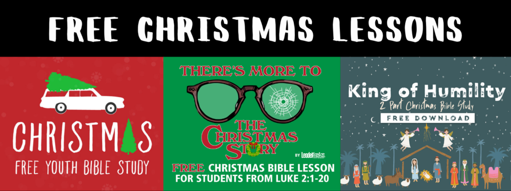 free christmas lessons for youth group