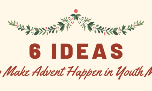 advent season 2019 for youth group student