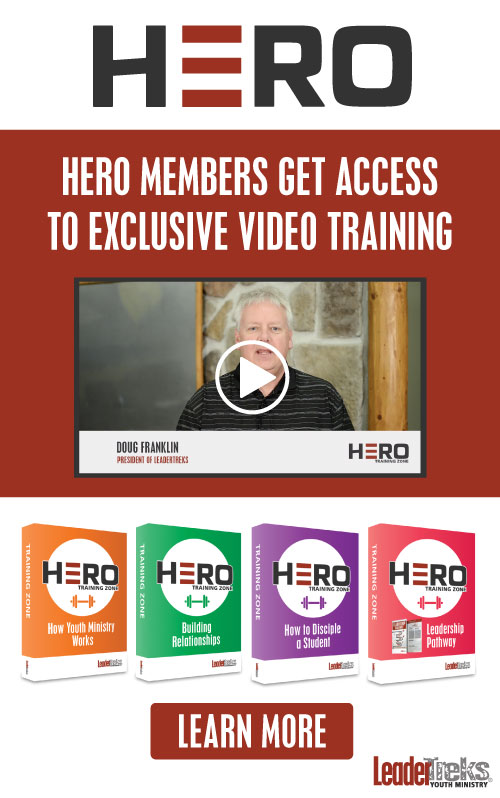 youth pastor video training for hero members