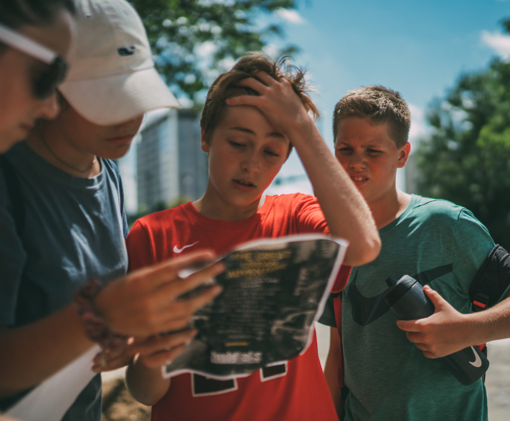 students in middle school ministry need guidance and help to navigate adolec