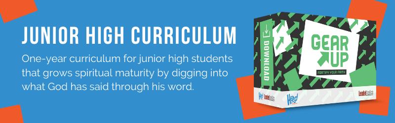 junior high curriculum