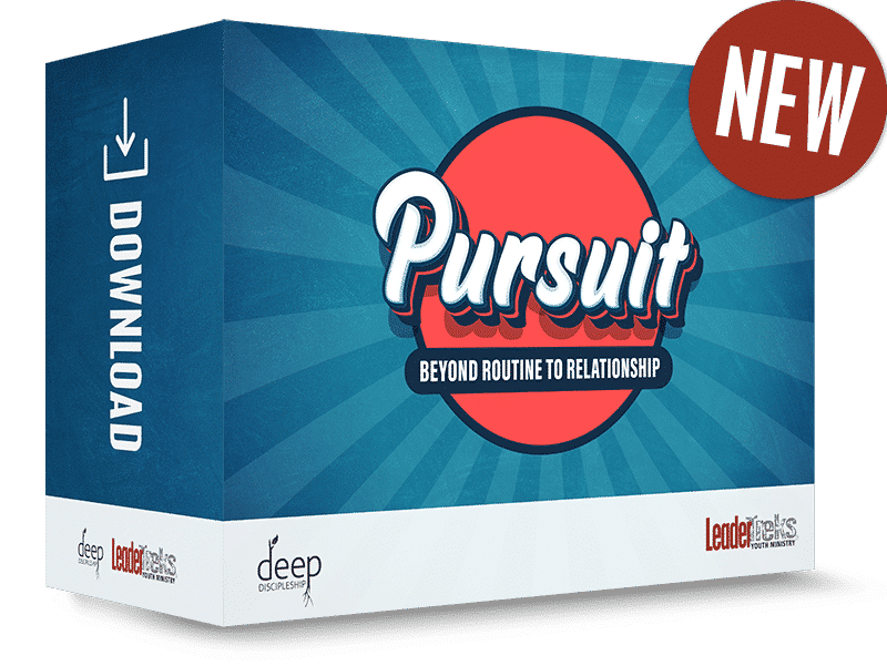 new deep discipleship youth ministry curriculum pursuit