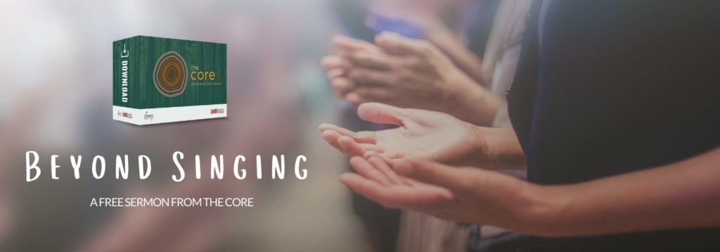 Beyond Singing - 10 minute sermons for youth